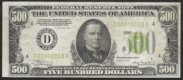 Thousand Dollar Real 1000 Bill