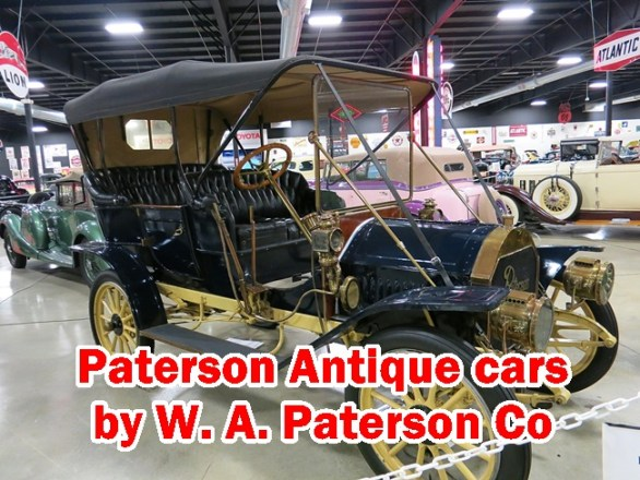 Here is all the Spare Parts details of Paterson Antique cars by W. A. Paterson Co, Year 1914 to 1921,Models 32,33,48,42,45T,45R,45L,46T,46R and 6-50.