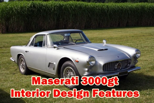 Maserati 3000gt Interior Design Features