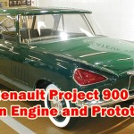 Renault Project 900 Design Engine and Prototype, The Renault concept 900 showed a proposal for a 1.7-liter V-cylinder engine, which used two 4-in-line engines of Renault Gordini.