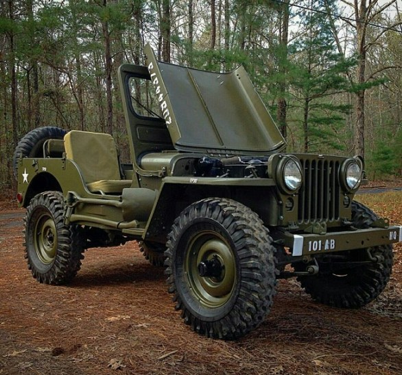 How is Built - Jeep Willys