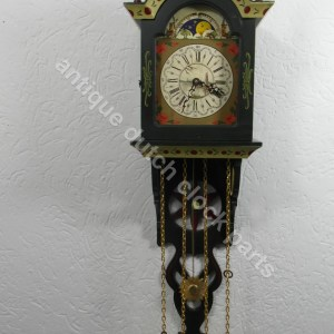 Hindeloopen clock parts