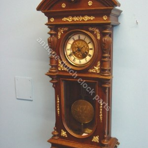 Parts for German clocks