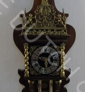 Antique Zaandam or Zaanse clock parts