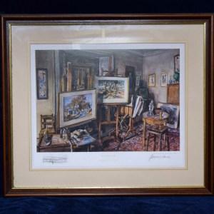 Framed Patrick McIntosh Patrick Print