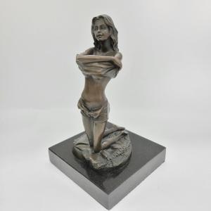 Contemporary Bronze Statue