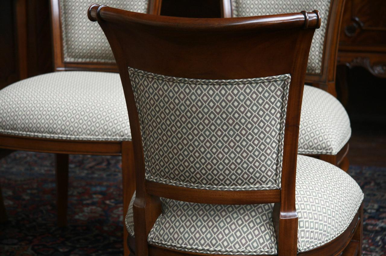 Mahogany Dining Room Chairs With Upholstered Back