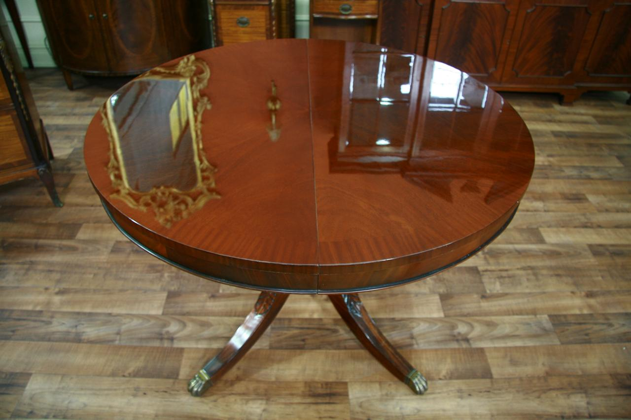 44 Round Dining Table With Leaf