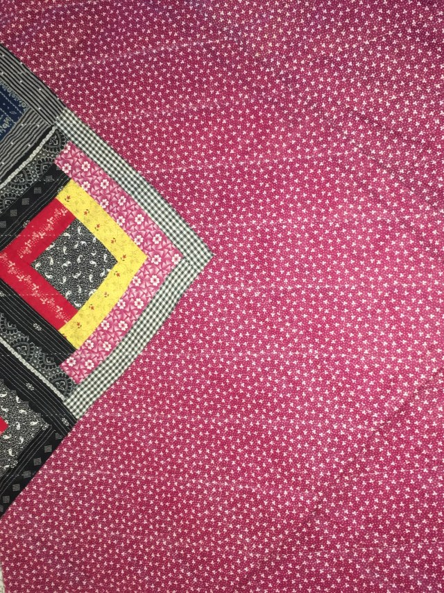 <strong>Back of quilt</strong>