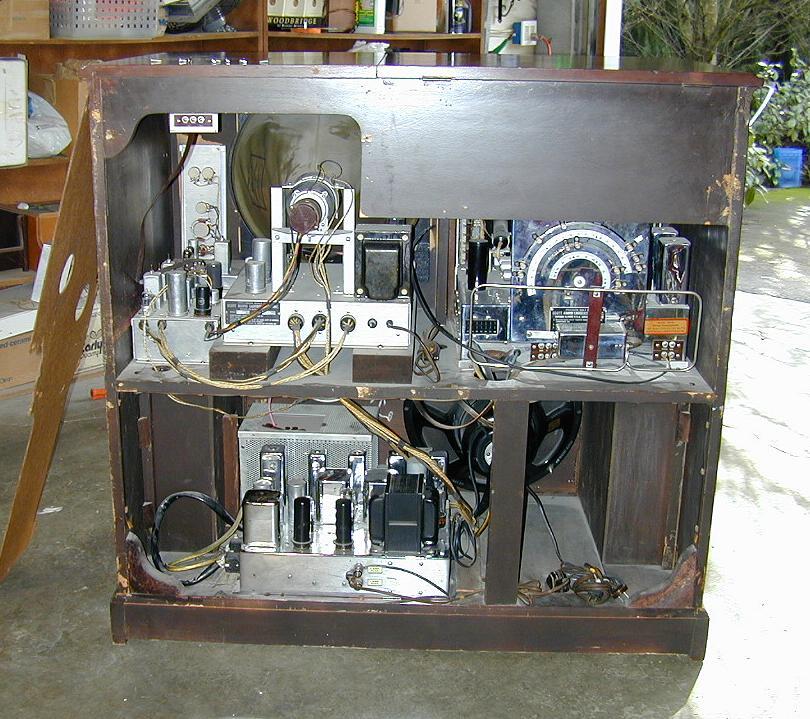 Scott 800 B6 RadioTVPhono Console 1948