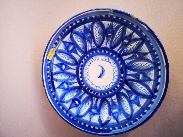 Manises Spanish Mojolica plate