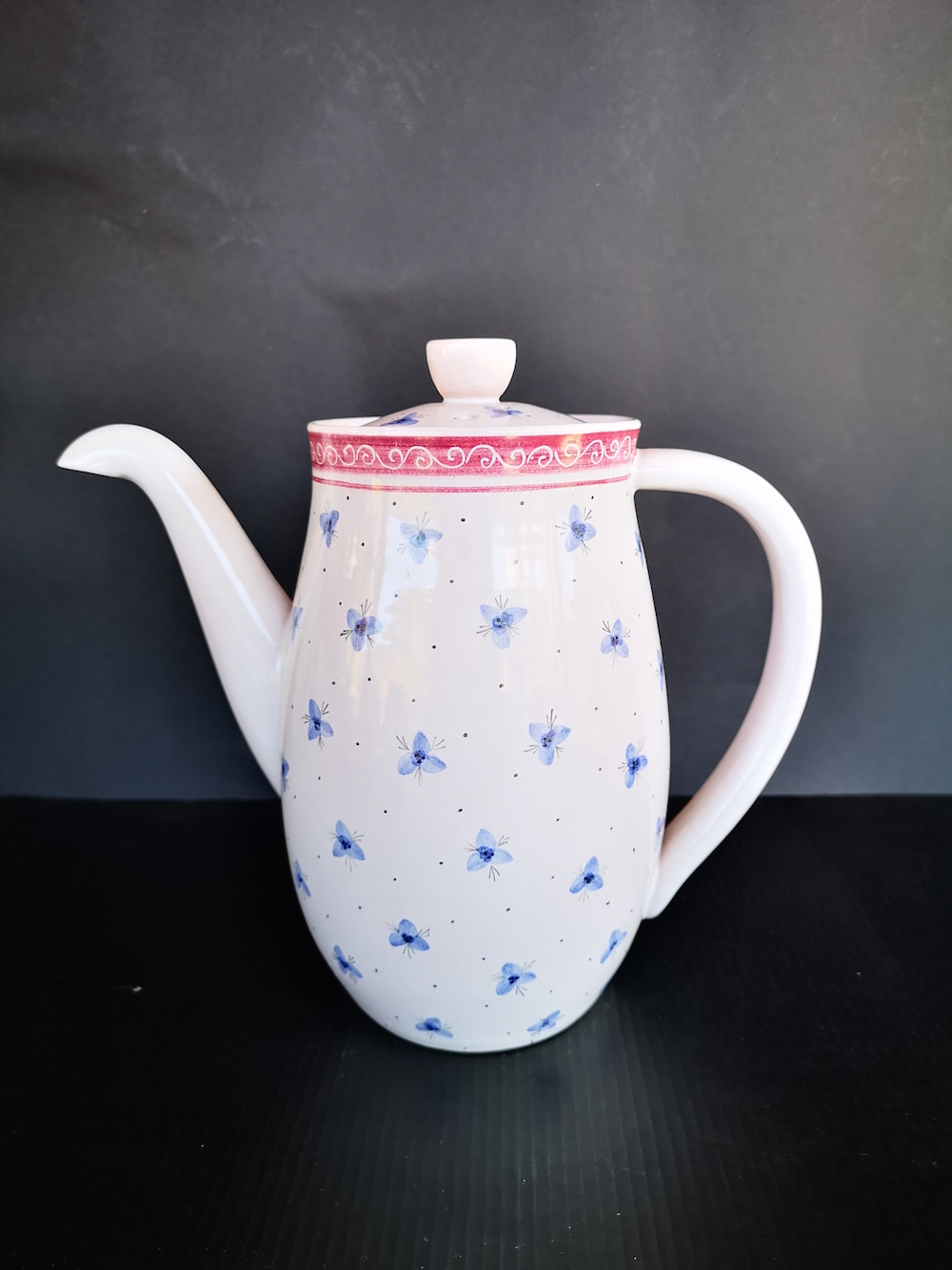 Fritz Haussmann Swiss traditional pot in Bauhaus design