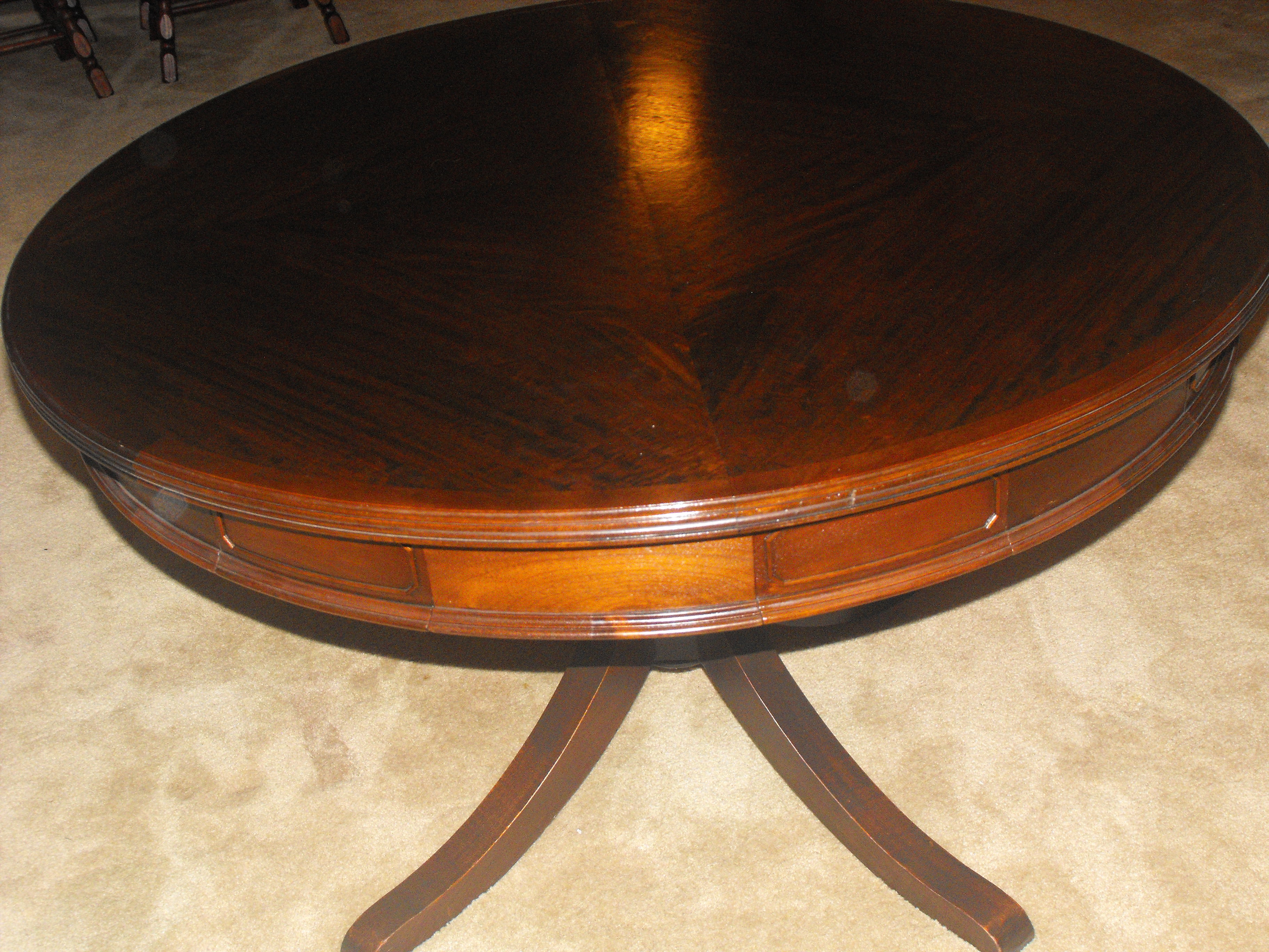 Antique Dining & Game (poker) Table For Sale