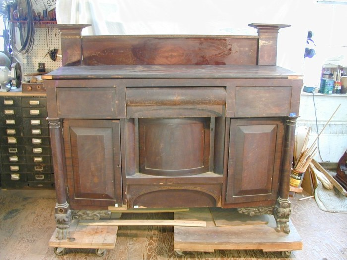 Antique Furniture Restoration - Sideboard