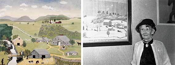 Highlights Grandma Moses Grandmother To The Nation By