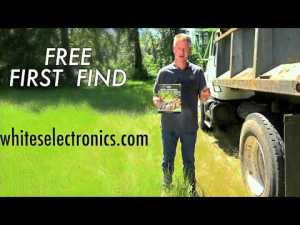 White's Electronics - First Find