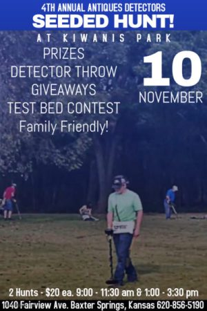 4th Annual Seeded Hunt hosted by Antiques Detectors