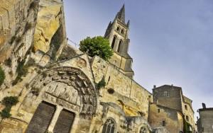 Saint Emilion in Bordeaux Saint-Emilion-eglise-Monolithe