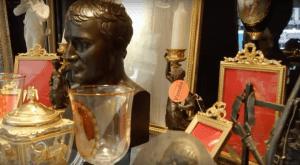 Foire de la Bastille Stalls full with Antiques