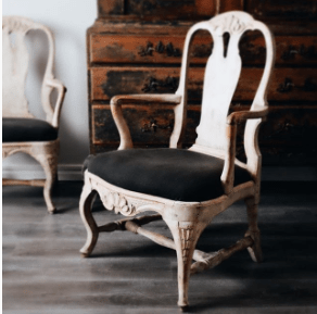 What Differentiates Swedish Antiques Swedish chair