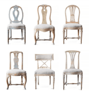 What Differentiates Swedish Antiques simple lines