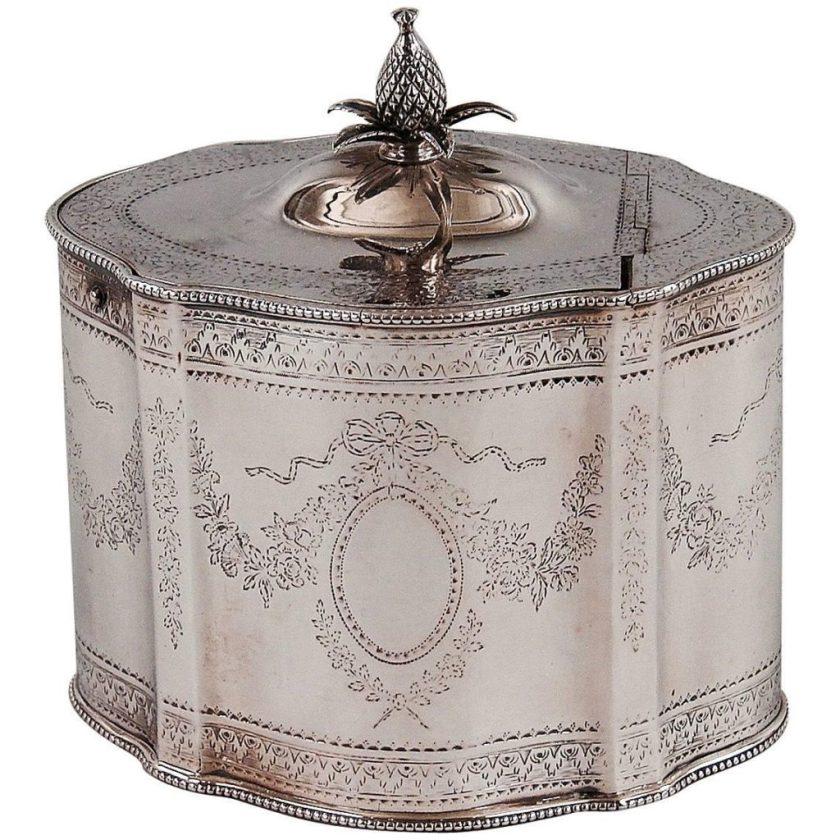 English Tea Caddies-Silver