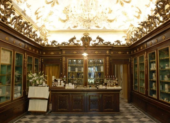 Antica Spezieria - Pharmacy of Santa Maria Novello in Florence   Toma Clark Haines   The Antiques Diva