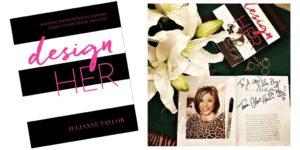 DesignHER book signing
