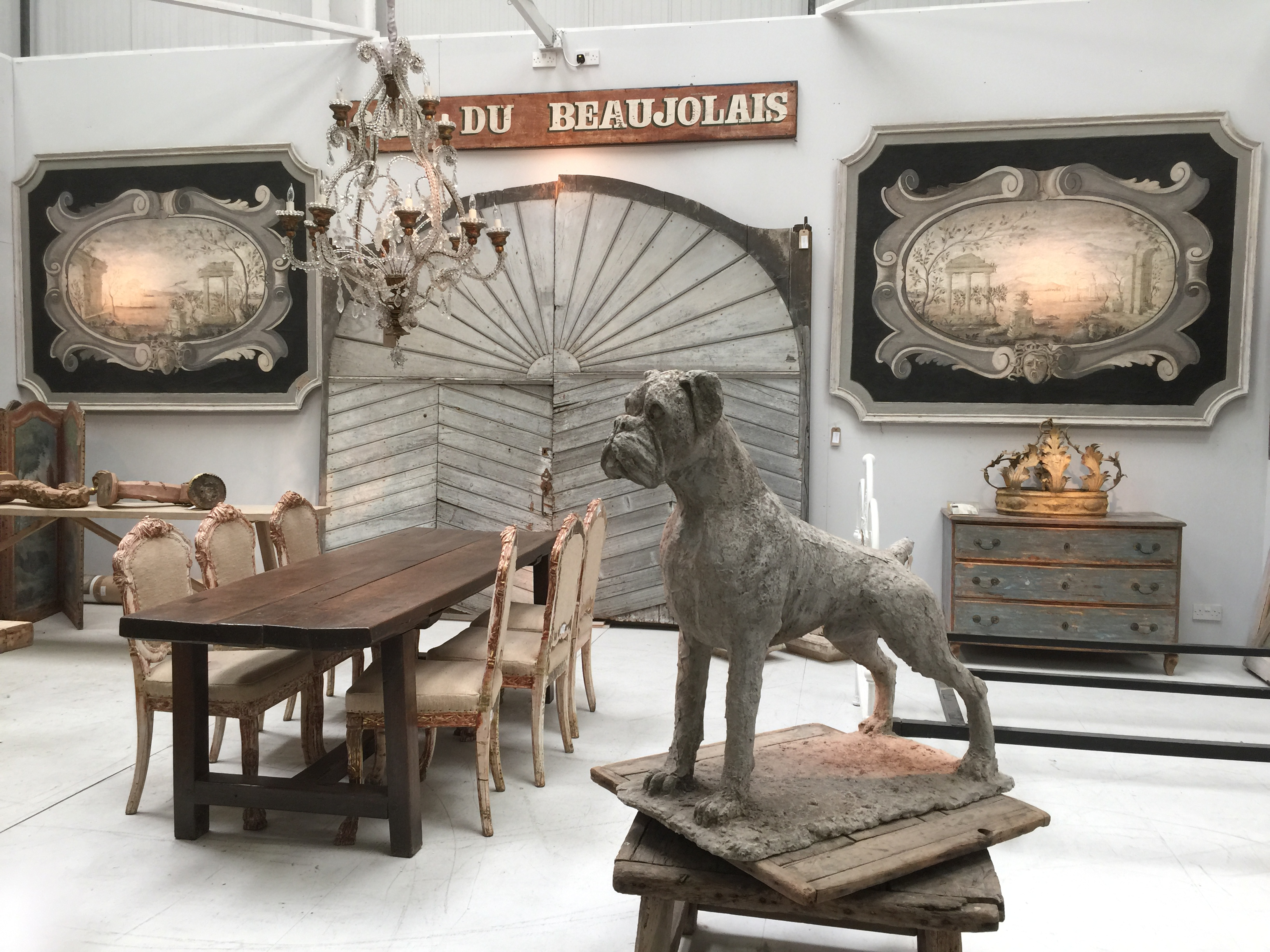 decorative European antiques found in the Cotswold