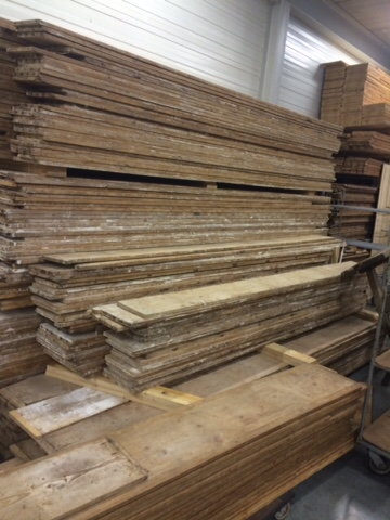 Where to buy architectural salvage: reclaimed European floors - architectural salvage