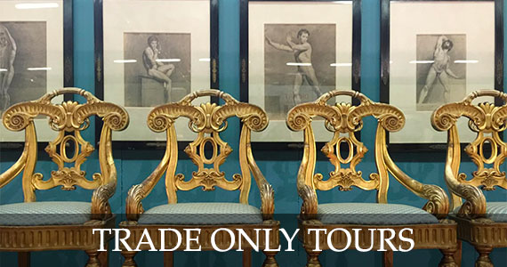Trade Only Antiques Buying Tours with The Antiques Diva & Co