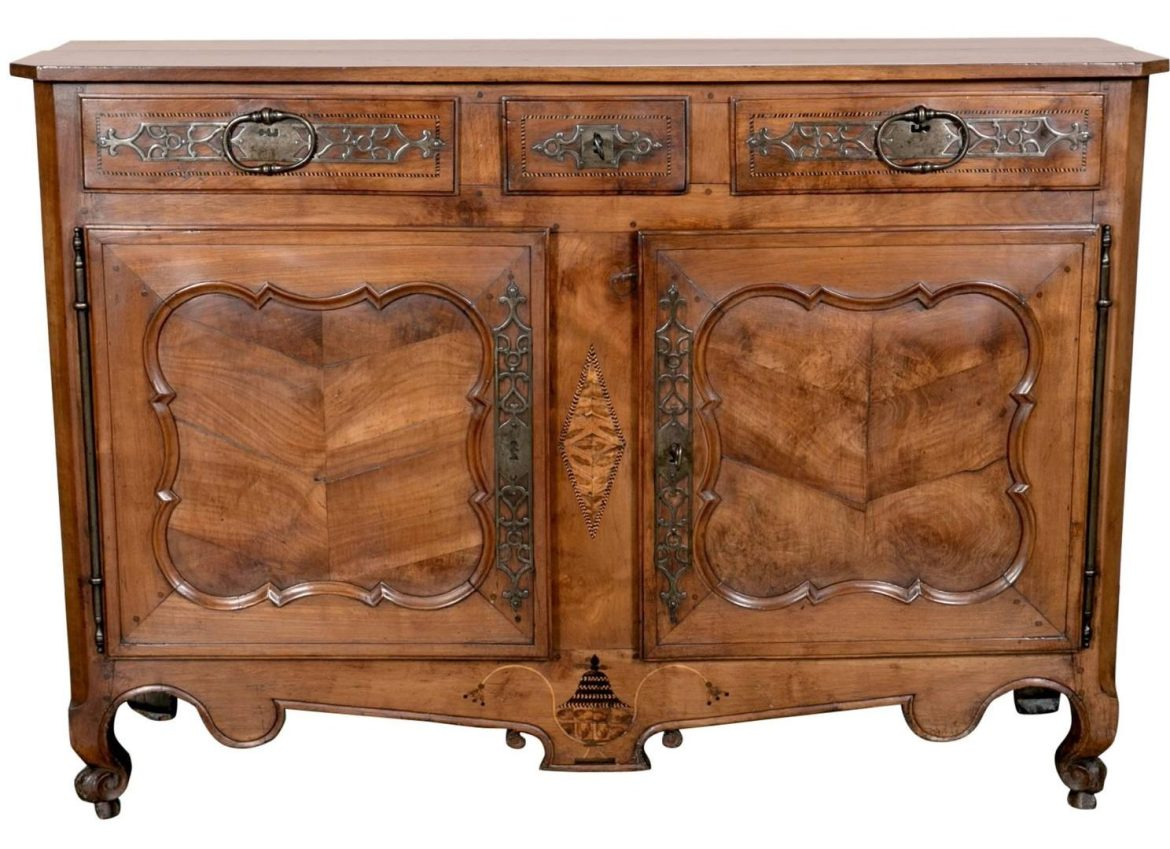 Lolo French Antiques Louis XV Period Buffet
