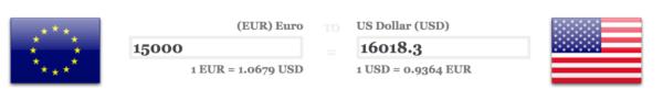 Convert Euro to Dollar