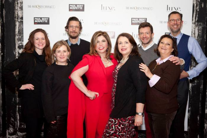 The Antiques Diva team at the 2017 Champagne Brunch
