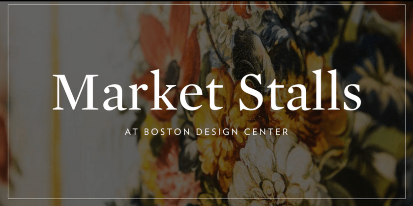 What's Old is New Again - Market Stalls at Boston Design Center | Toma Clark Haines | The Antiques Diva