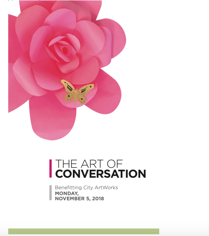 The Art of Conversation Benefitting City ArtWorks in Houston