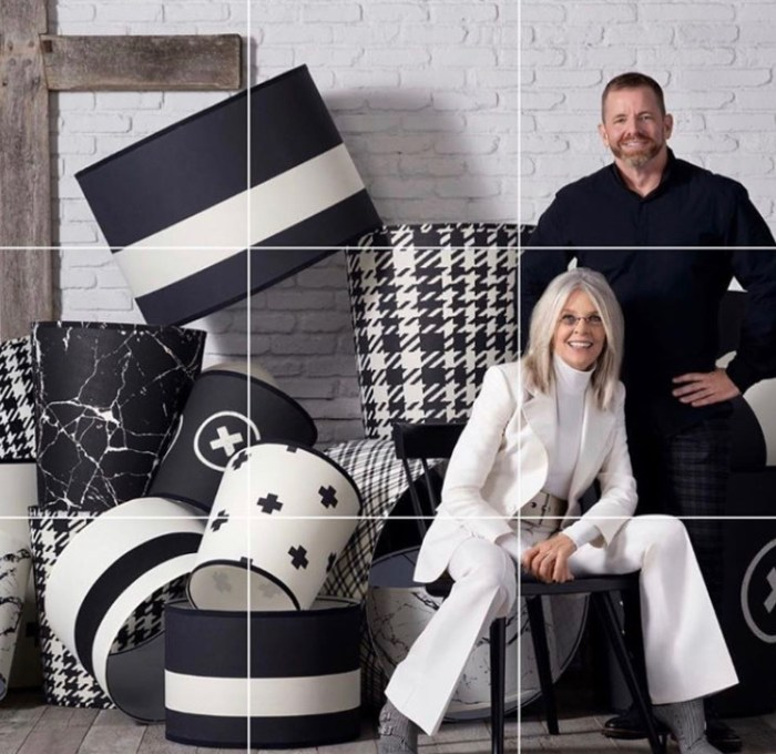 Randal Weeks and Diane Keaton: Keaton Industries Collection of Industrial Chic Lighting for Aidan Gray Home