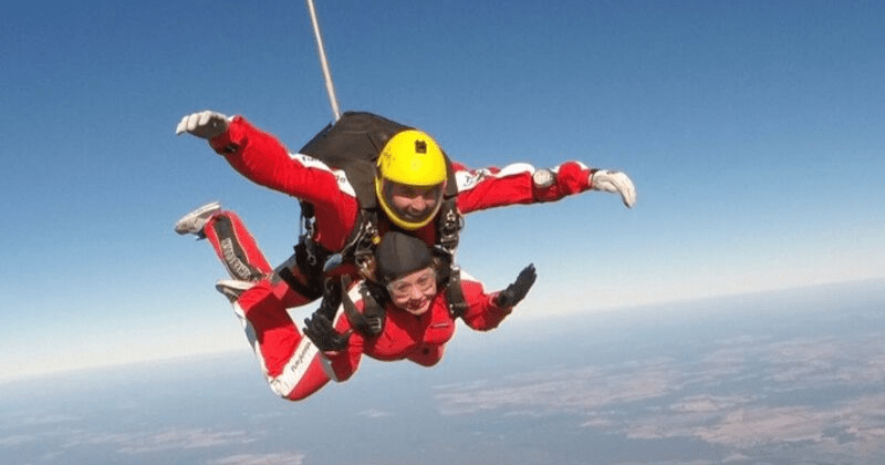Skydiving: The Art of Procrastinating Wisely | Toma Clark Haines | The Antiques Diva