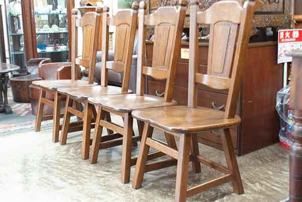 オーク材ルーマニア製椅子