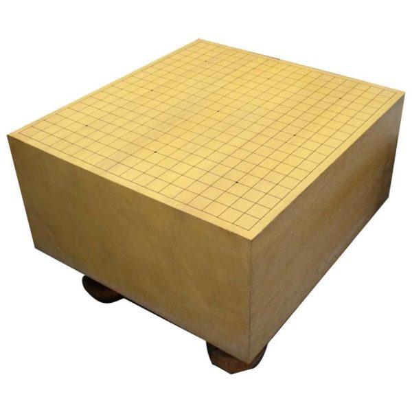 碁盤 脚付き 柾目