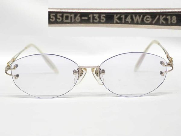 K14WGK18刻印眼鏡