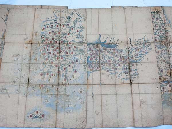 李氏朝鮮 地図