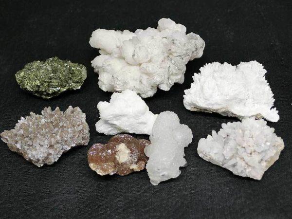 天然石 鉱石 鉱物 原石 結晶 8点