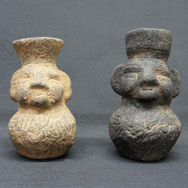 ボリビア乃至ブラジル産出品 人型土器