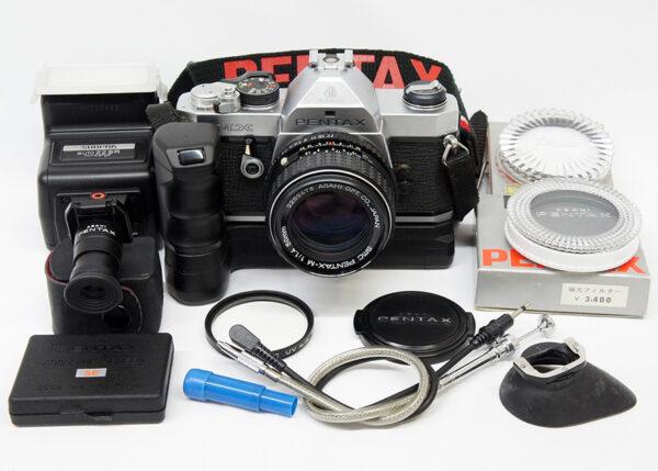 Pentax MX+レンズ