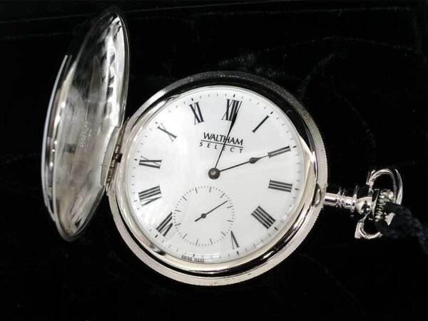 ウォルサム 懐中時計 銀製