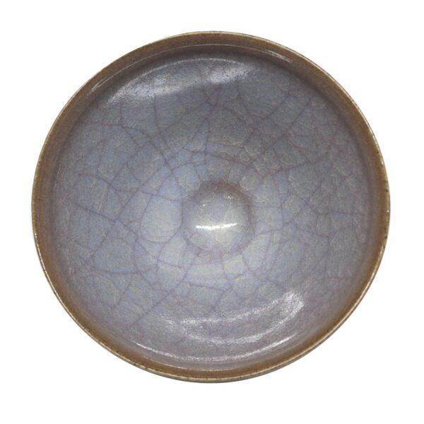 筒井廣明 紫陽茶碗 内側