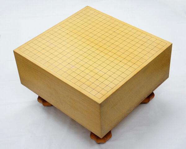 碁盤 柾目 脚付き 新榧材