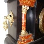 ANTIQUE CARVED WOOD E. Ingraham Clock
