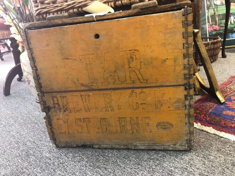 Star Brewery Wooden Crate